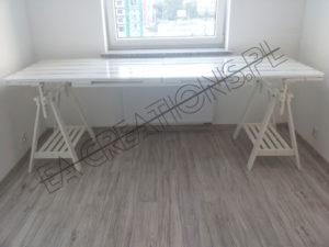 Stół kreślarski z palet