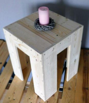 Mini stolik z palet